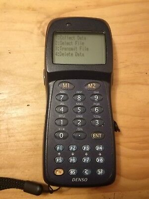 Denso bht-8000 barcode handheld IR scanner for stock take perfect condition