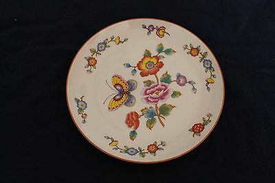 Four Matching Chinoiserie Porcelain Plates