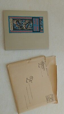 James W Foley  Greeting card 1925 first edition
