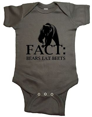 The Office Bears Eat Beats Baby One Piece