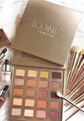 Iconic London Day to Slay Eyeshadow Palette 20 Colors Natural Cosmetics