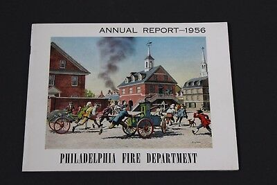 Philadelphia Fire Department Annual Report 1956 MINT