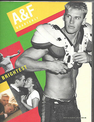Abercrombie and Fitch 2001 Back to School Fall Catalog A&F Quarterly