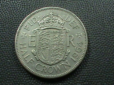 GREAT  BRITAIN    1/2  Crown    1964