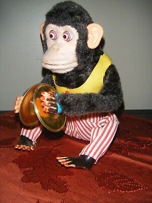 Jolly Chimp Monkey W/ Cymbals In Working Condition!Toy Story 3! Call of Duty!!