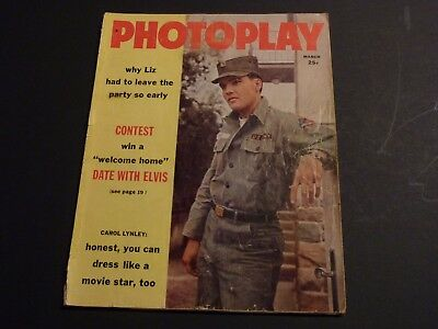 Elvis Presley Photoplay March 1960 Magazine