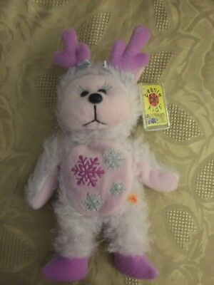 Beanie Kids Dancer The Reindeer Bear +Retired + Mint