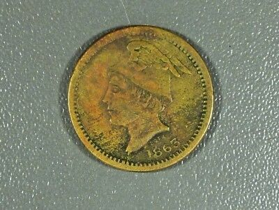 1863 Stewart Wholesale And Retail Grocer Owosso Michigan Token