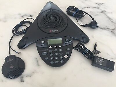Polycom SoundStation 2W Conference Phone Non-Expandable 1.8GHz (DECT) Complete
