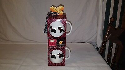 Scottish Terrier Coffee Mug Cup Boxed Set MSRF Design Studios