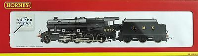 Hornby R2228 Class 8F 2-8-0 8510 In Lms Black – New In Box