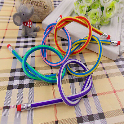 5Pcs Flexible Pencils Fun Student Gifts New Magical Soft Pencil Free Transform