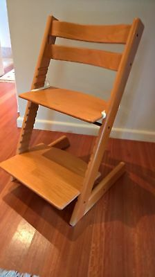 Stokke Tripp Trapp Child High Chair - with accessories