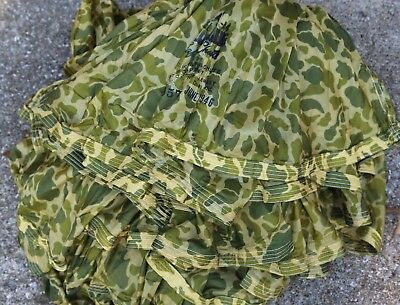 Parachute Camouflage 1946 - Switlik Safety Chute - 24ft - excellent shape