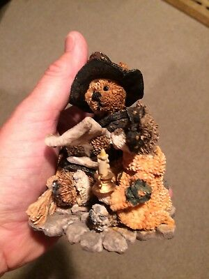 Boyd's Bear Halloween Figurine Emma The Witchy Bear #2269