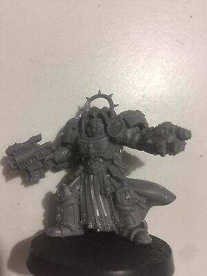 Warhammer 40k Space Marines Army Limited Edition Captain In Terminator Armour