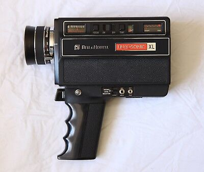 BELL & HOWELL Filmosonic XL 1230 - Super8 film camera with audio kit