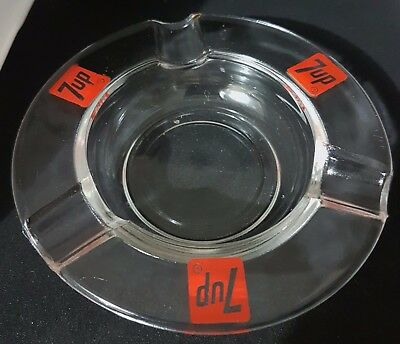 7up Ashtray, Red Logo, New Condition