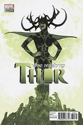 Mighty Thor 700 Adam Hughes 1:100 Variant Nm Pre-Sale