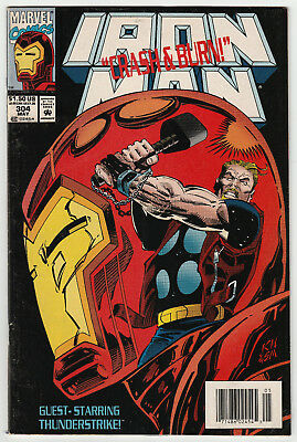 Iron Man #304 KEY ISSUE 1st Appearance of Hulk-Buster Armor F+