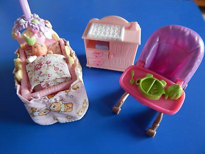 Fisher Price Loving Family Dollhouse Furnirure Nursery Set With Baby
