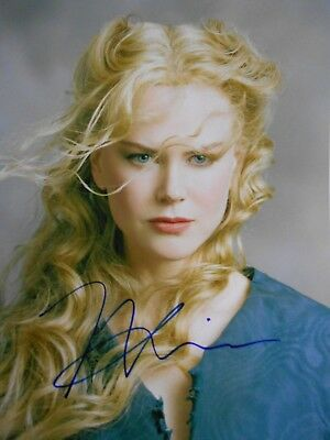 Nicole Kidman  8x10 auto photo in Excellent Condition