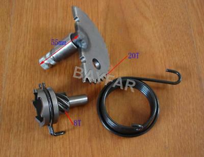 Kick Start Shaft & 8T Idler Gear & Spring for Scooter ATV 139QMB GY6 50 60 80cc