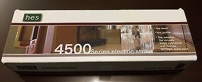 HES 4500F 630 Electric Strike 12/24 VDC Fail Safe Satin Stainless Finish