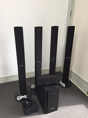 Panasonic, 5.1 speakers- with wireless system for SE-FX70   Perfect condition