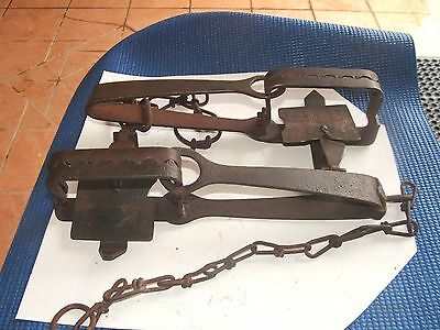 2 Old Rabbit Traps,   Display Purpose Only
