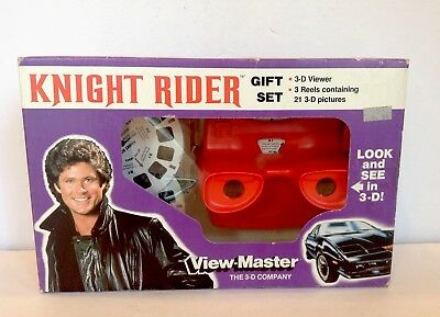 Vintage MISB Knight Rider View Master The 3-D Company Gift Set 1982