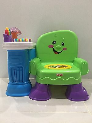 Fisher-Price Learning Chair For Toddlers Preschoolers p/u 2762