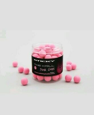 Sticky Baits the krill pink ones 12mms pop ups
