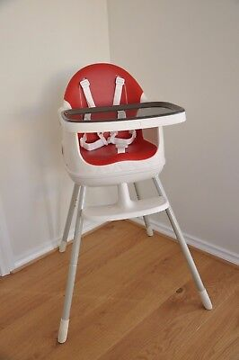 KETER high chair in red