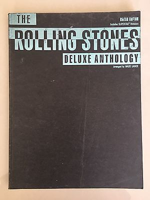 Rolling Stones Deluxe Anthology 1991 Music Book Guitar Tab