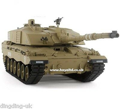 Heng Long Radio Remote Controlled RC  Tank Challenger 2  1/16 Super Detail