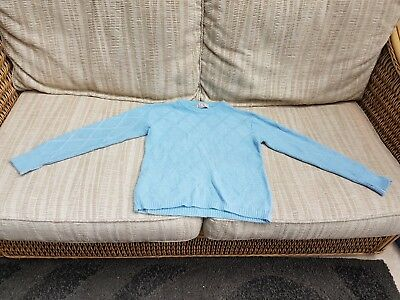 Vintage children's light blue  jumper by M & S Age 11