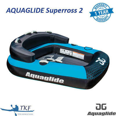 Aquaglide Supercross 2 - 2 Person Inflatable Towable