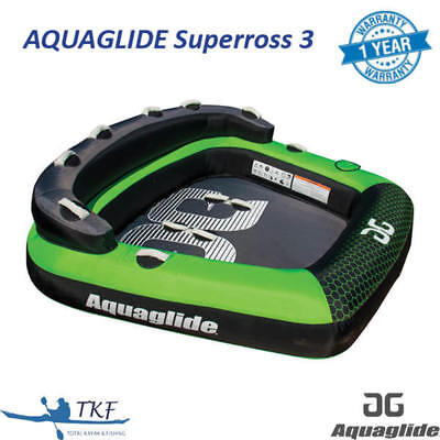 Aquaglide Supercross 3 - 3 Person Inflatable Towable