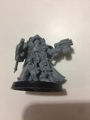 Warhammer 40k Space Marines Army Limited Edition Chaplain In Terminator Armour !