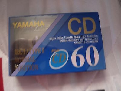 cassette tape vintage rare: yamah CD 60 position normal  new and sealed