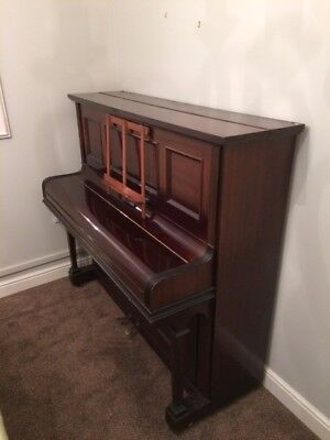 Upright Piano  made /supplied by Duck, Son & Partner, Bath