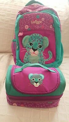Smiggle Back Pack And Lunchbox