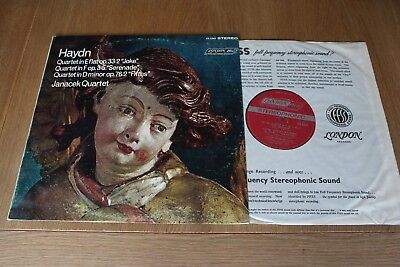 London CS 6385 FFRR WBg Haydn Quartets / Janacek Quartet