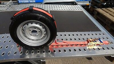Recovery Ratchet Alloy Wheel Safety Straps Trailer 5Ton  set of 4 Brand new