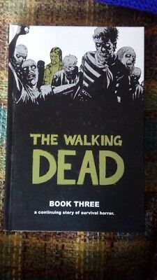The Walking Dead Graphic Novel Book 3 Hard back very good condition