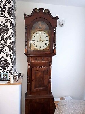 Antique Mahogany Longcase / Grandfather Clock