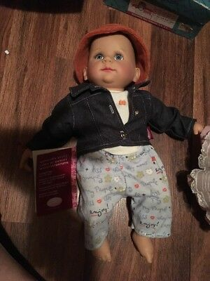 Gotz Boy Doll. Was On Display And Collected With Tag Attached