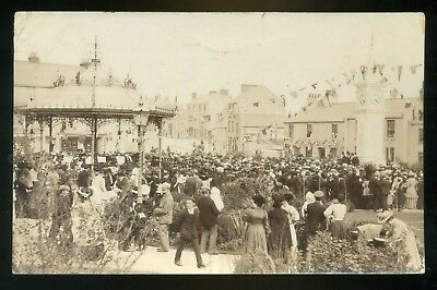 EASTON / PORTLAND Dorset  Unveiling the Clock Tower / large crowd  RP