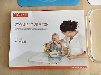 stokke tripp trapp table top tablett eur 13 00 picclick de. Black Bedroom Furniture Sets. Home Design Ideas